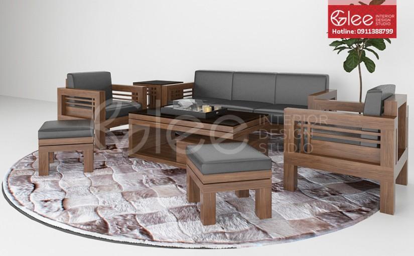 Sofa gỗ đẳng cấp – GSG05