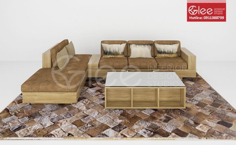 Bộ sofa gỗ đẹp – GSG07
