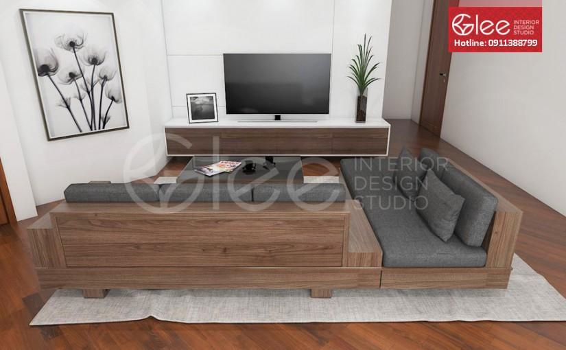 Bàn ghế sofa gỗ chất lượng cao – GSG09
