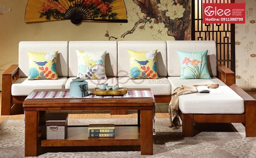 Địa chỉ mua bộ bàn ghế Sofa gỗ xoan đào rẻ nhất Hà Nội.