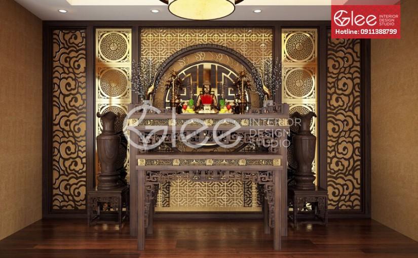 GTT19 – Mẫu bàn thờ gỗ gụ đẳng cấp