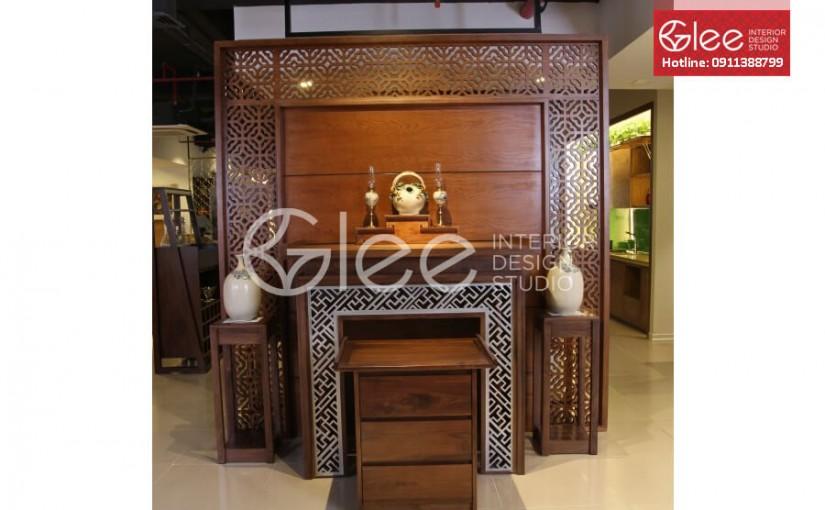Có nên mua bàn thờ gỗ gụ hay không? – Nội thất Gleehome
