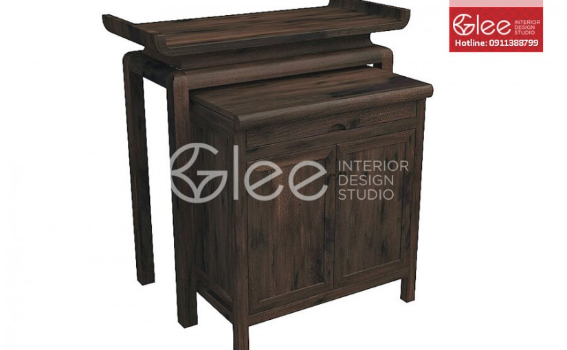 Đặc điểm, cách phân biệt của tủ thờ gỗ gụ
