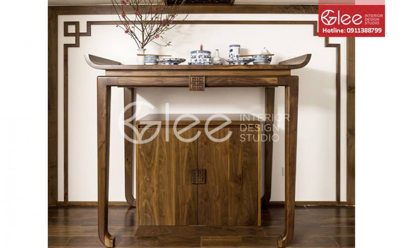 Các mẫu bàn thờ gỗ đẹp nhất năm 2019