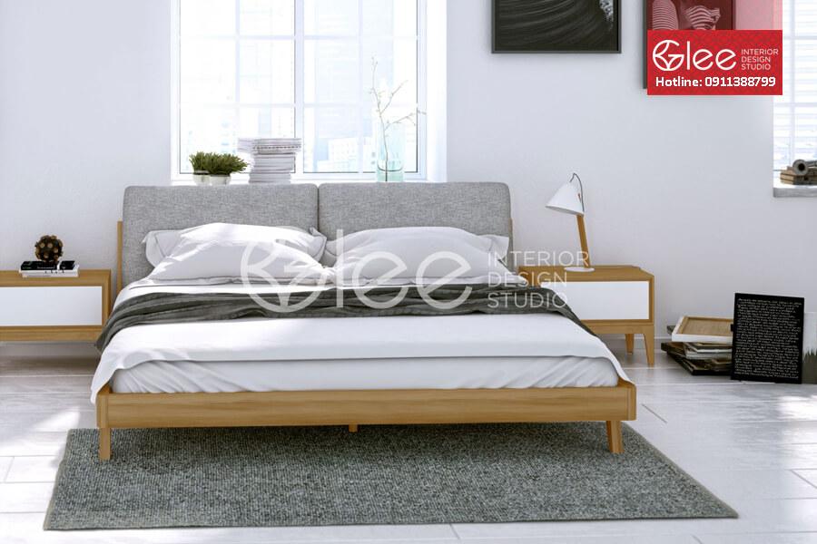 Giường ngủ theo phong cách tối giản